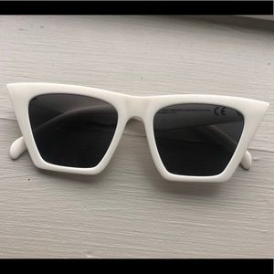 White H&M sunglasses